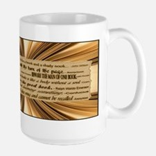 Quotes about Books Large Mug