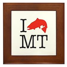 Unique Montana Framed Tile
