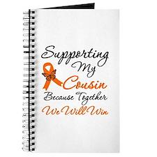 Orange Ribbon Butterfly Journal
