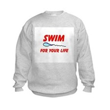 KEEP SWIMMING Sweatshirt