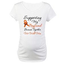 Orange Ribbon Butterfly Shirt