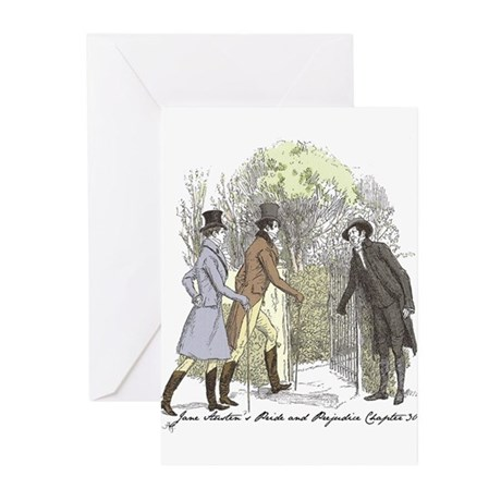pride & prejudice Ch 30a Greeting Cards (Pk of 10)
