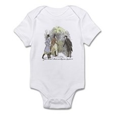 pride & prejudice Ch 30a Infant Bodysuit