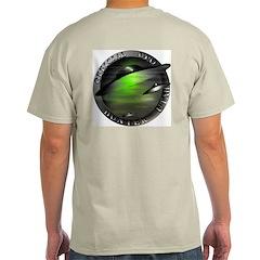 Official UFO Hunter Ash Grey T-Shirt