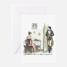 Pride & Prejudice Ch 32 Greeting Card