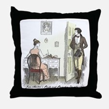 Pride & Prejudice Ch 32 Throw Pillow