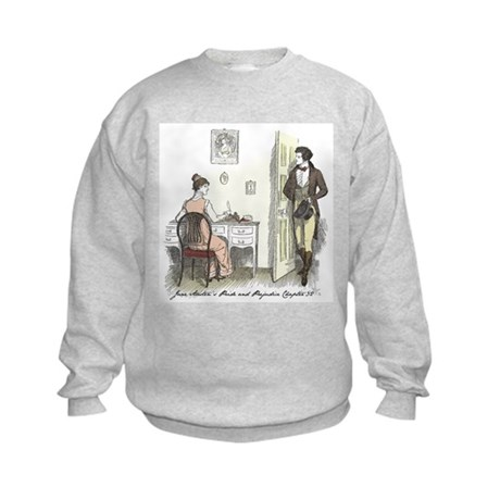 Pride & Prejudice Ch 32 Kids Sweatshirt