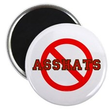 No Asshats Magnet