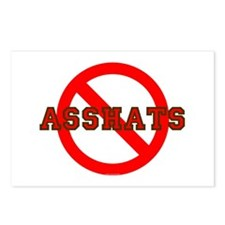 No Asshats Postcards (Package of 8)