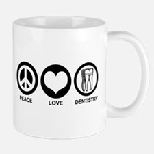 Peace Love Dentistry Mug
