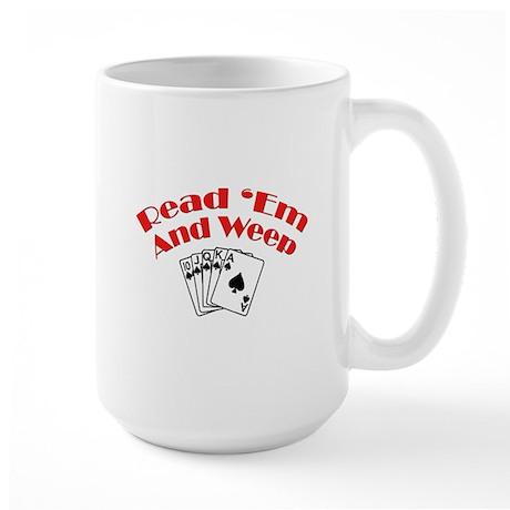 Read Em and Weep! Large Mug
