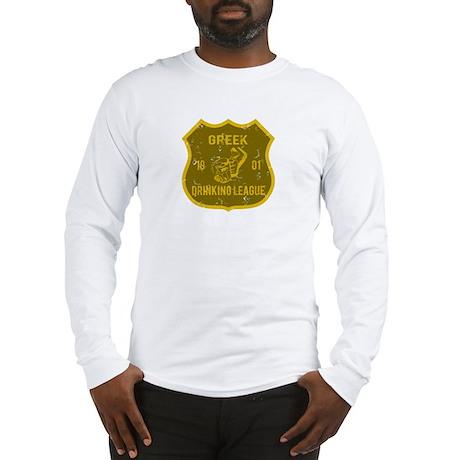 Greek Drinking League Long Sleeve T-Shirt