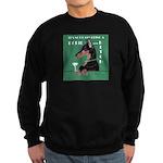 Doberman Bitch Sweatshirt (dark)