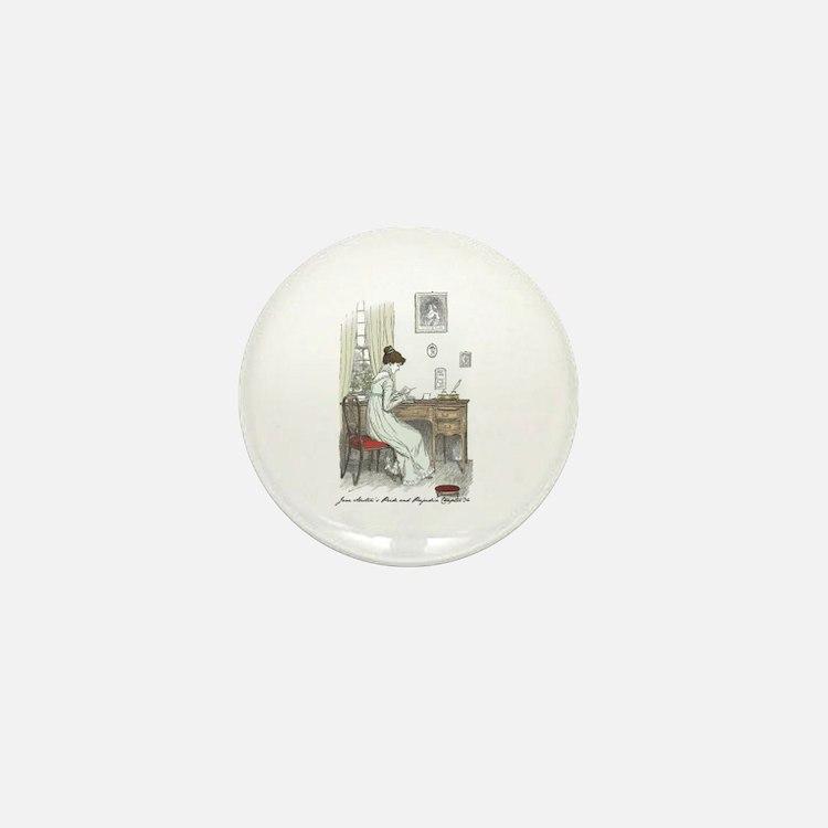 Pride & Prejudice Ch 34a Mini Button