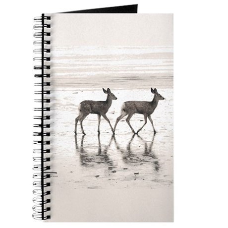 Fawn Twins at the Shore Journal