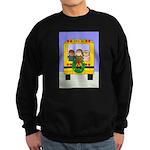 School Bus Christmas Sweatshirt (dark)