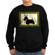 Scottie Dog Christmas Sweatshirt