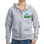 Agility Pause for the Cause! Women's Zip Hoodie