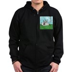 Agility Pause for the Cause! Zip Hoodie (dark)