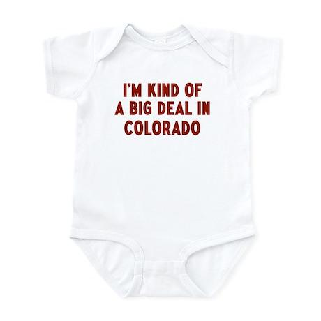 Big Deal in Colorado Infant Bodysuit