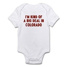 Big Deal in Colorado Infant Bodysuit