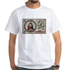 1909 Girl in Red Hood Shirt