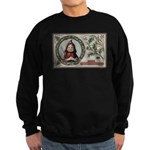 1909 Girl in Red Hood Sweatshirt (dark)