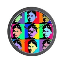 Lizzie Borden Art Wall Clock