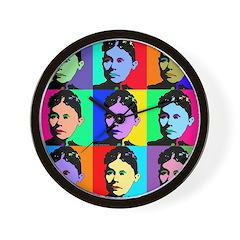 Lizzie Borden Art Wall Clock