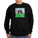 Bassett Hound Party guy!! Sweatshirt (dark)