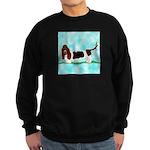 Basset Hound Sweatshirt (dark)