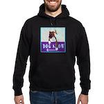 Boxer Puppy Hoodie (dark)