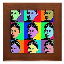 Lizzie Borden Tile Framed Tile