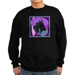 Giant Schnauzer Design Sweatshirt (dark)