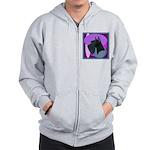 Giant Schnauzer Design Zip Hoodie