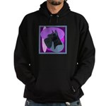 Giant Schnauzer Design Hoodie (dark)