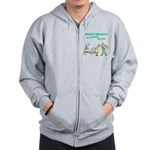 Female Physical Therapist Zip Hoodie