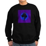 Black Great Dane Sweatshirt (dark)