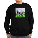 Harlequin Great Dane Duo Sweatshirt (dark)