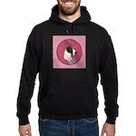 Mantle Great Dane design Hoodie (dark)