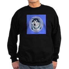 Alaskan Malamute Show dog Sweatshirt