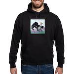 Newfoundland Puppy Hoodie (dark)