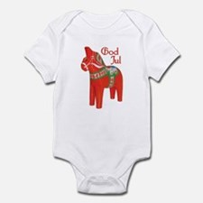 God Jul Dala Infant Bodysuit