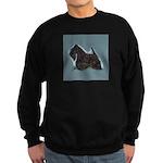 Scottish Terrier - Scotty Dog Sweatshirt (dark)