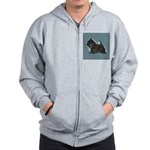 Scottish Terrier - Scotty Dog Zip Hoodie