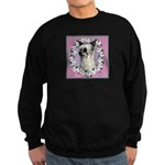 Powder Puff Chinese Crested Sweatshirt (dark)