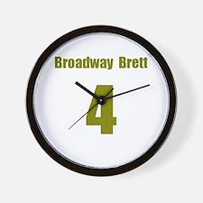 Funny Broadway joe Wall Clock