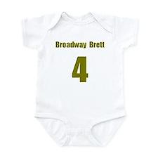 Cute Throwback sports Infant Bodysuit