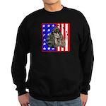 Black Poodle Sweatshirt (dark)