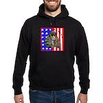 Black Poodle Hoodie (dark)